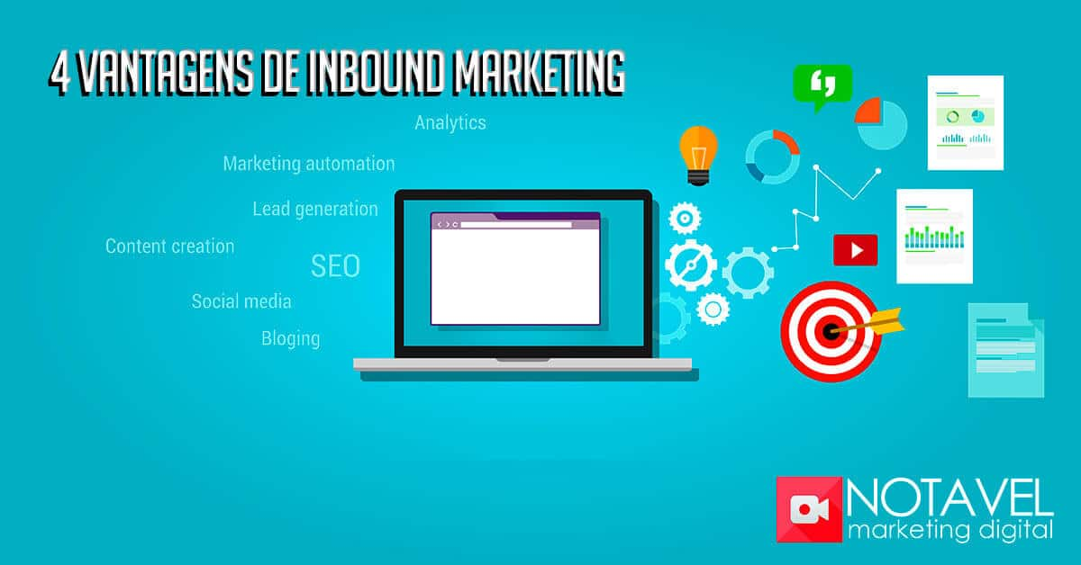 4 vantagens de inbound marketing