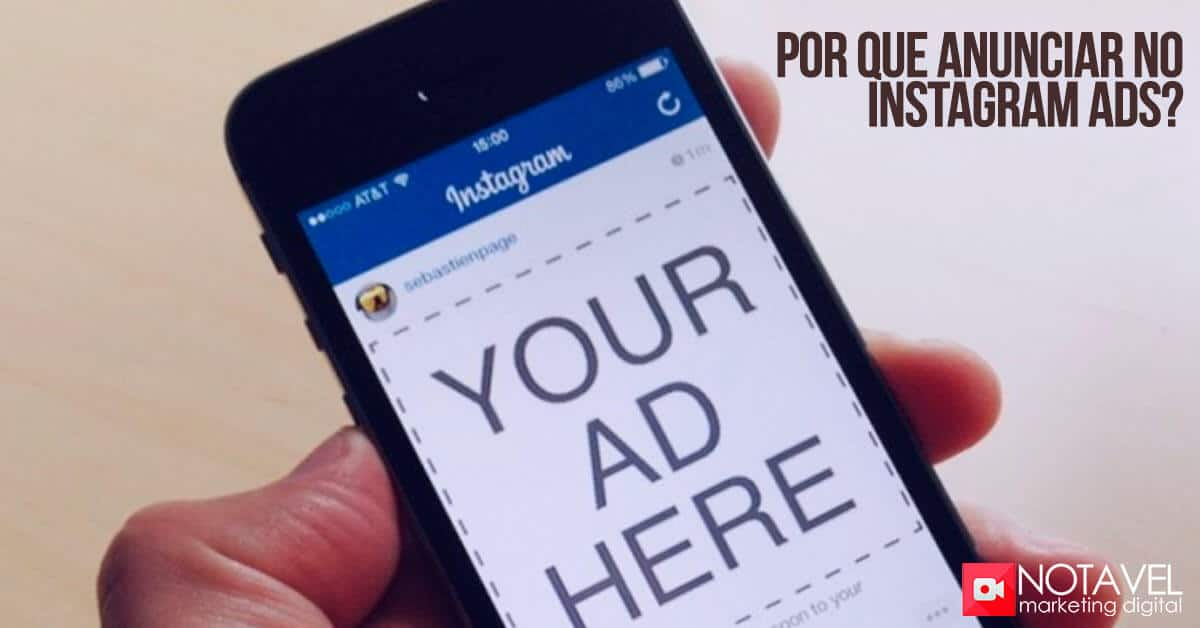 por que anunciar no instagram ads