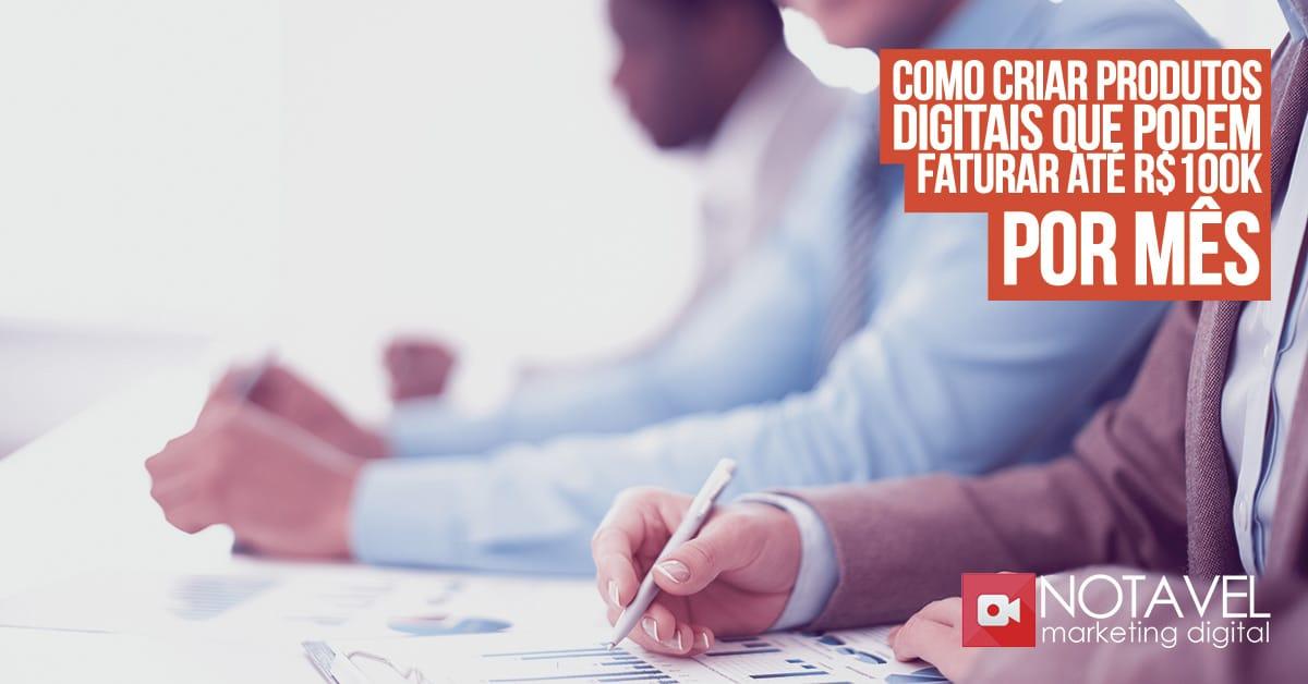 como criar produtos digitais