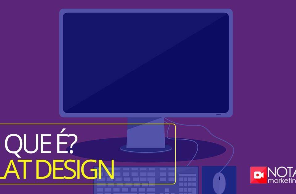 O que é flat design?