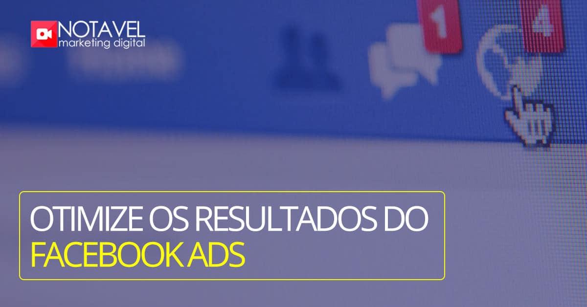 otimize os resultados com facebook ads