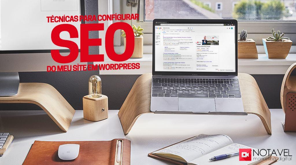 Técnicas para configurar SEO do meu site em wordpress