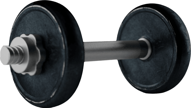 dumbell 3435964 isolated