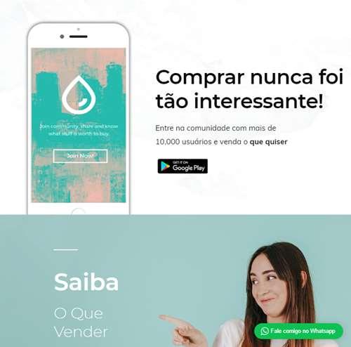 site para app